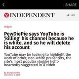 PewDiePie uncucked
