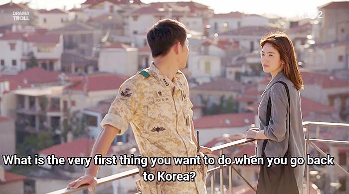 Such Determination. .. Hfw Korean Asian drama Descendants of the sun